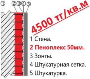 ЗАКАЗАТЬ УТЕПЛЕНИЕ 50мм.
